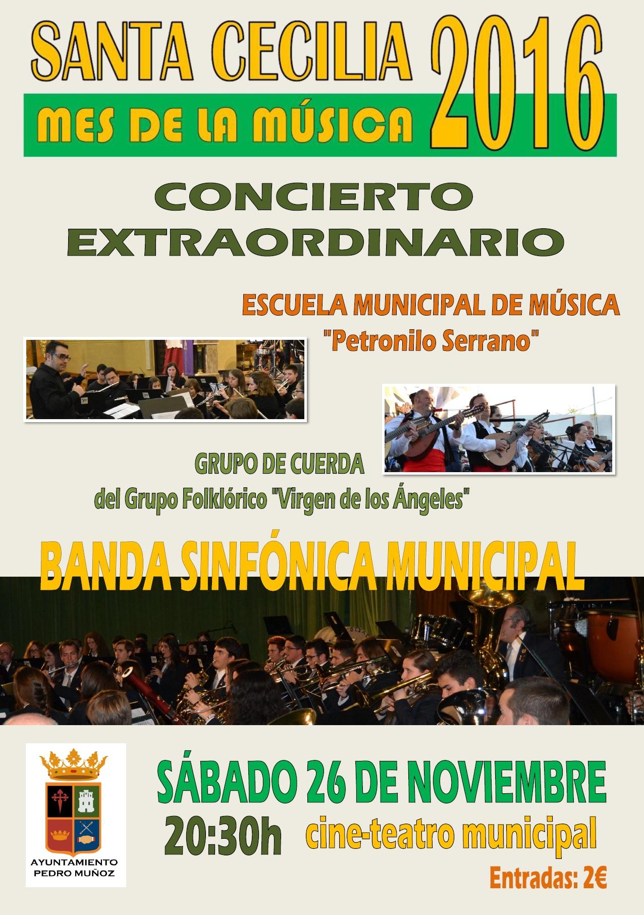 Un concierto extraordinario de música popular y clásica pondrá broche de oro al mes de la música en Pedro Muñoz