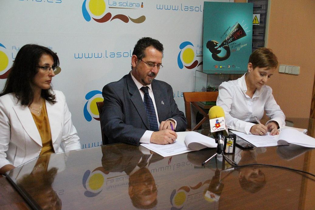 Gas Natural apoyará el Festival de Cine y Vino de La Solana