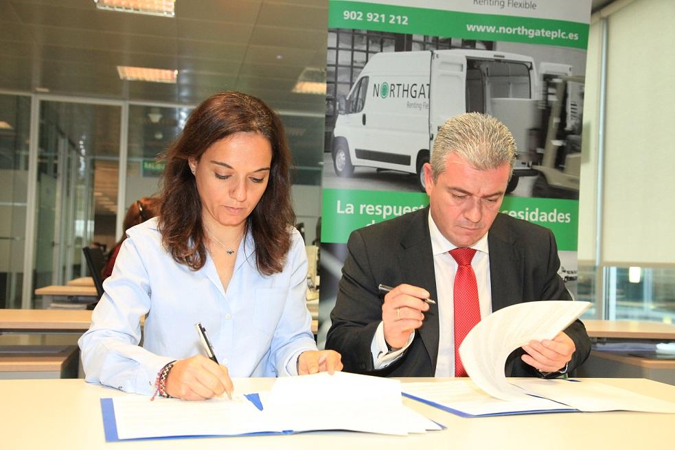 El Ayuntamiento de Getafe y la empresa Northgate España Renting Flexible, S.A. firman un convenio para el fomento del empleo
