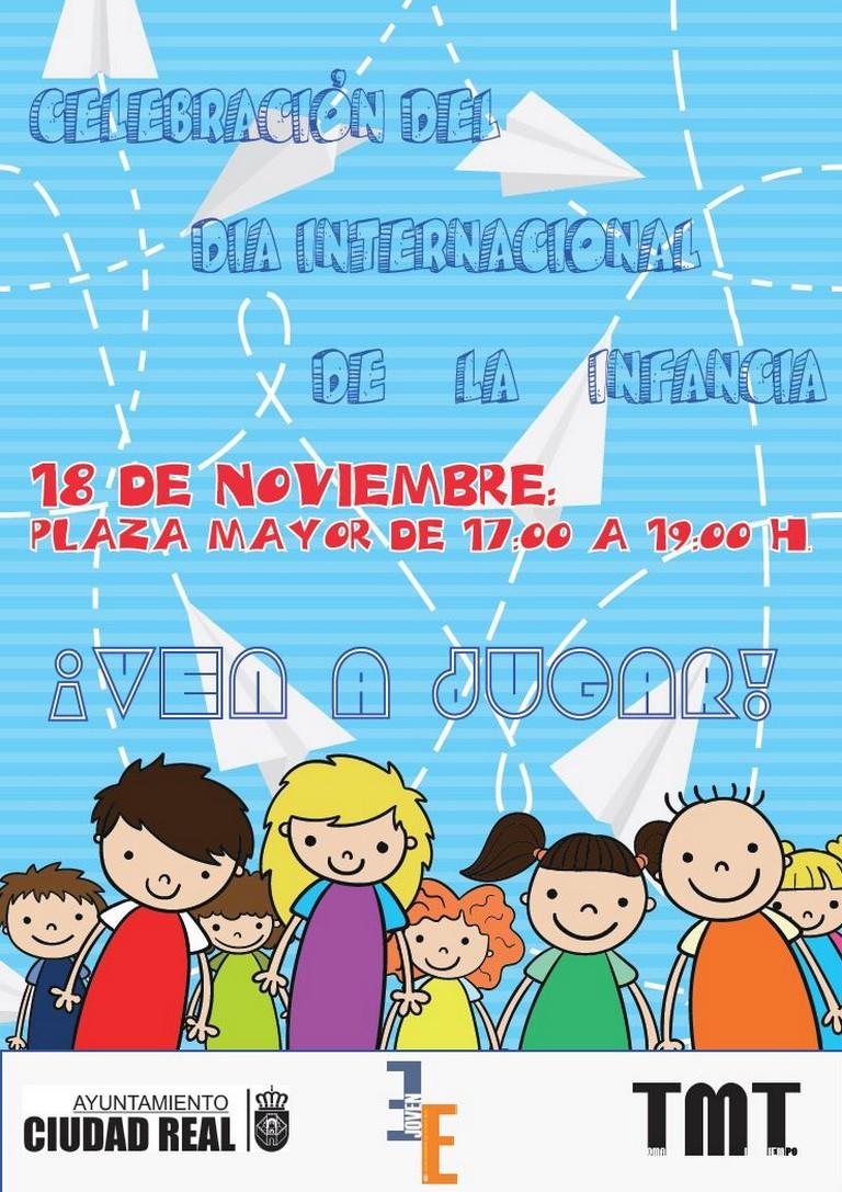 Ciudad Real celebra el Día Internacional de los Derechos de la Infancia este viernes en la Plaza Mayor