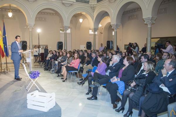 La Diputación de Ciudad Real acoge el acto institucional con motivo del Día Internacional de la Eliminación de la Violencia contra las Mujeres