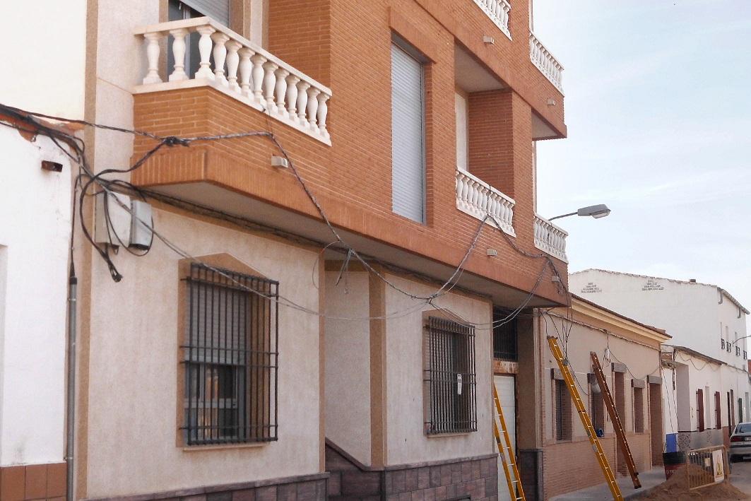 Un escape de gas obliga a la Policía Local de Argamasilla de Alba a desalojar varias viviendas
