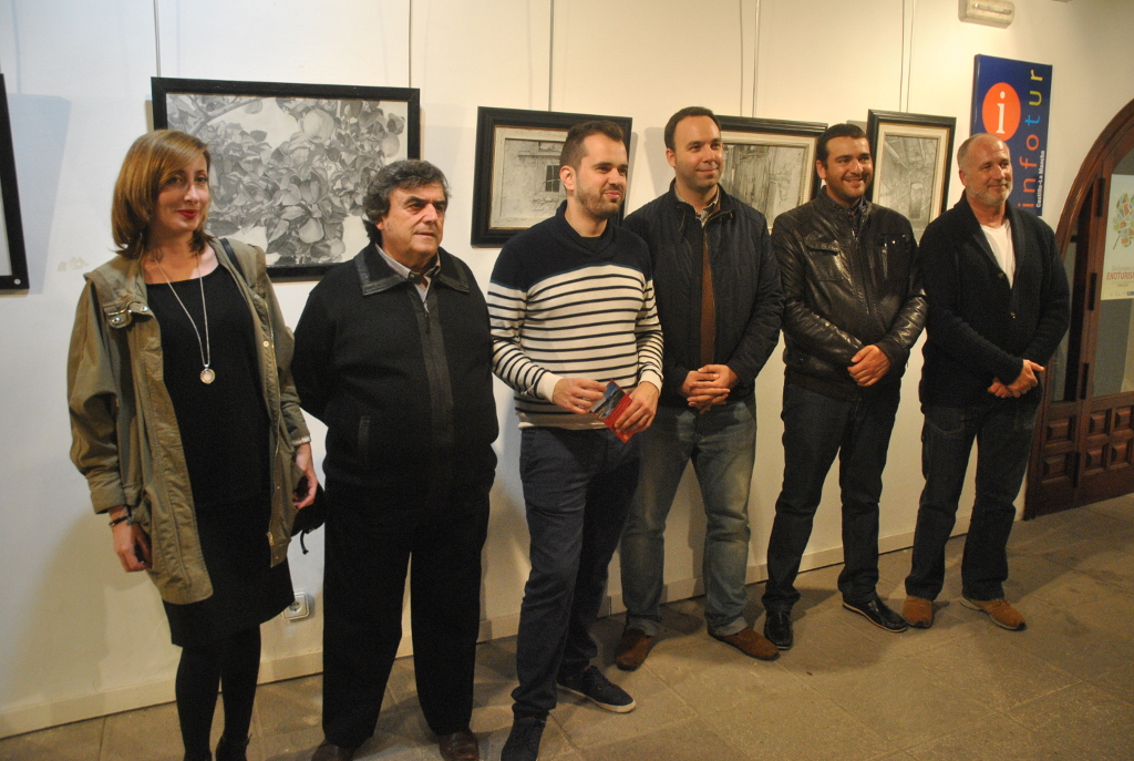 Antonio Ortiz Mayorga expone en la Posada de los Portales de Tomelloso hasta el día 26