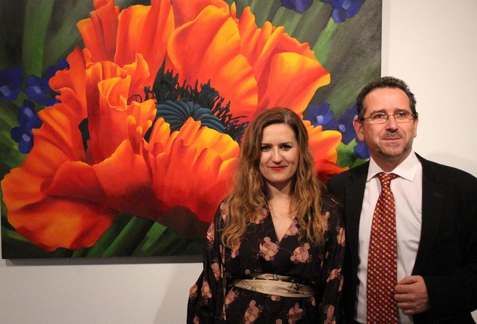 Luz y naturaleza en la primera exposición de Inma Alba en La Solana