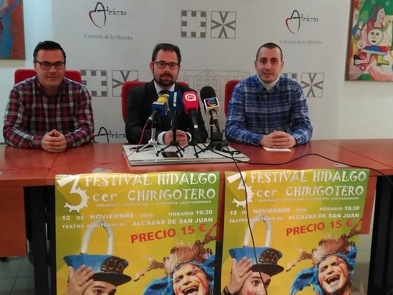 El sábado se celebra el III Festival Hidalgo Chirigotero en el Auditorio Municipal de Alcázar