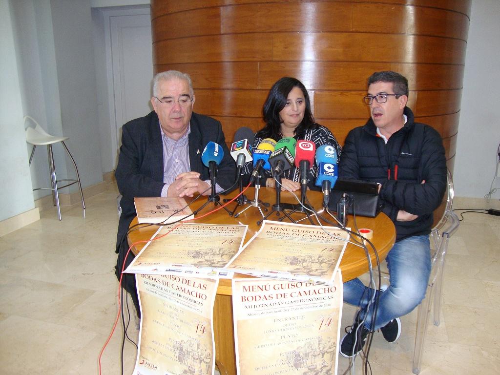 Presentación en Alcázar de las XII Jornadas Gastronómicas del Menú Guiso de las Bodas de Camacho