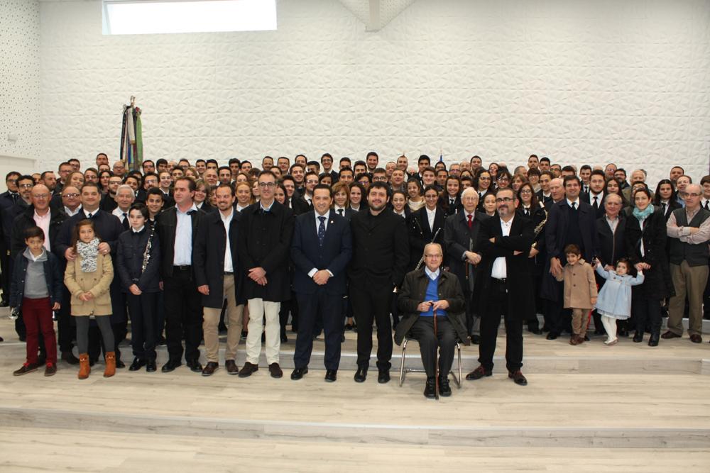 Las fiestas de Santa Cecilia culminan con la inauguración de la nueva sede de la Filarmónica Beethoven en Campo de Criptana
