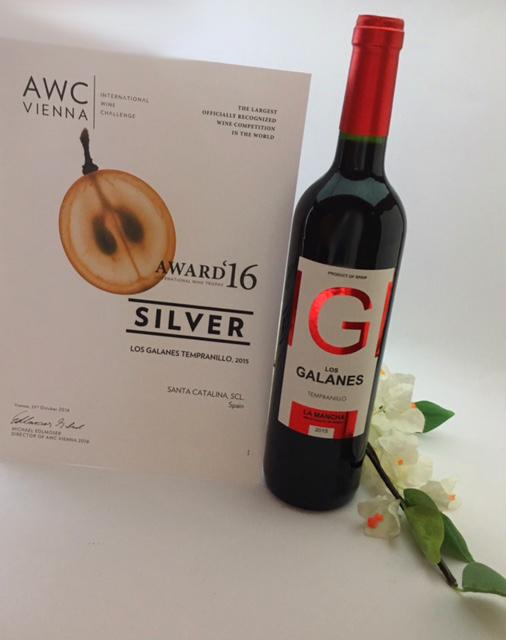 El destacado concurso AWC Vienna brinda otro triunfo al vino tinto de Cooperativa Santa Catalina