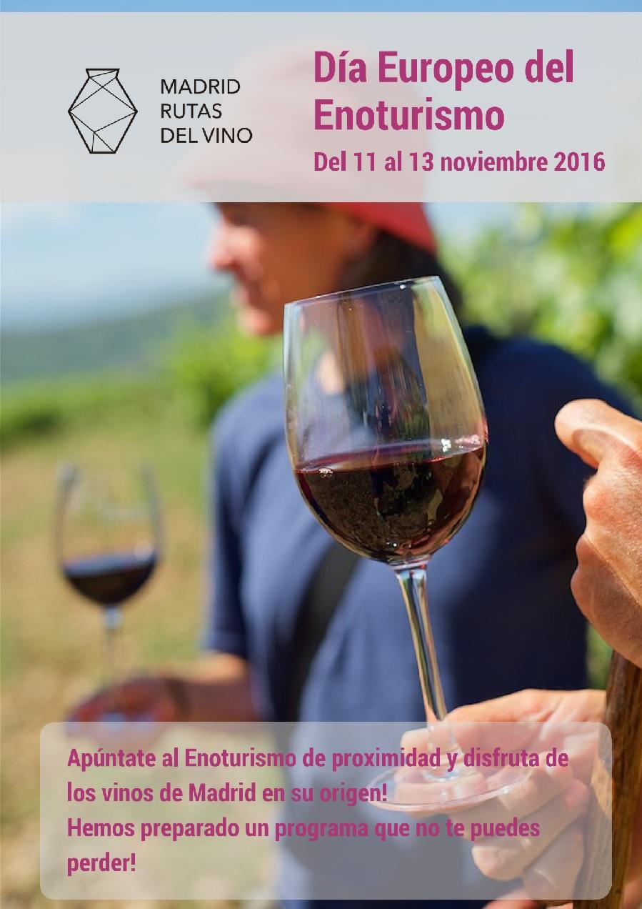 Madrid Rutas del Vino se suma este fin de semana a la celebración del Día Europeo del Enoturismo