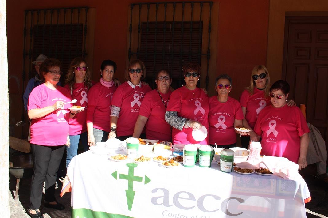 Las migas de la asociación contra el cáncer de La Solana consiguieron 841 euros