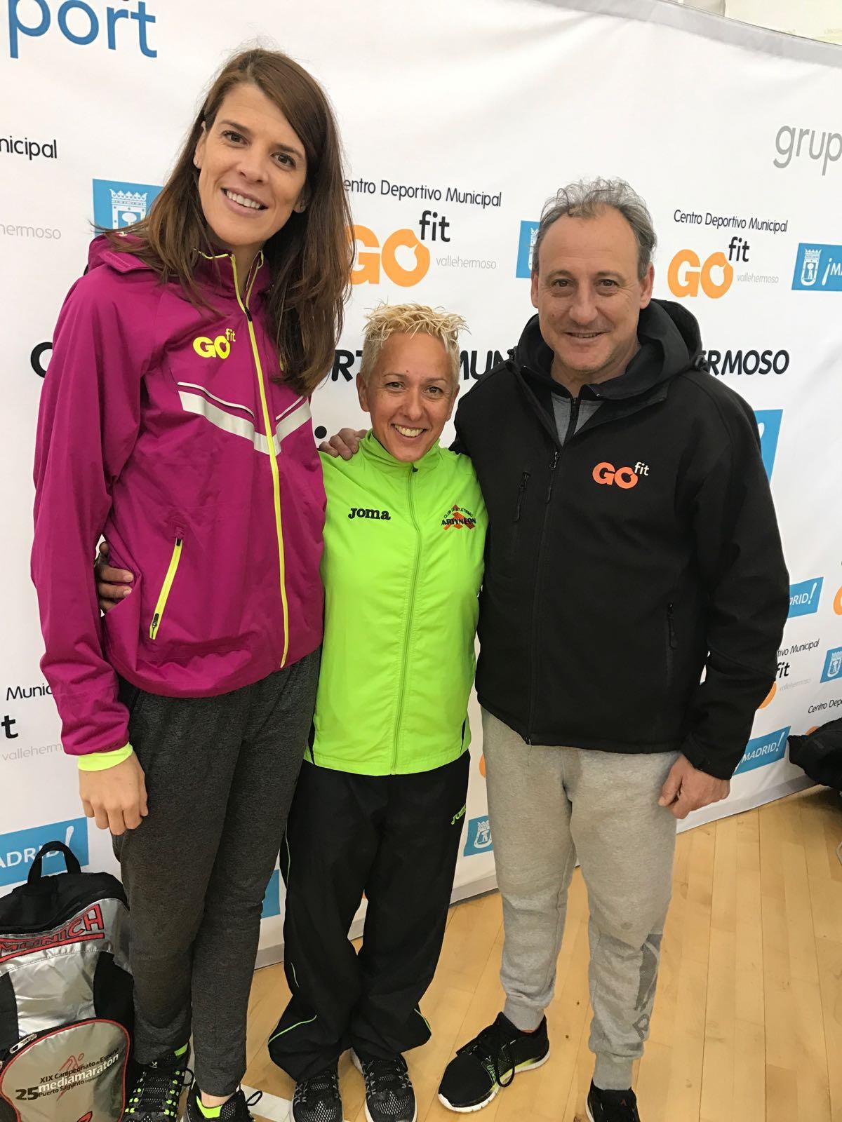 La atleta getafense Nuria Prieto del Club Artyneon se proclama campeona de Madrid de 10 Km en ruta