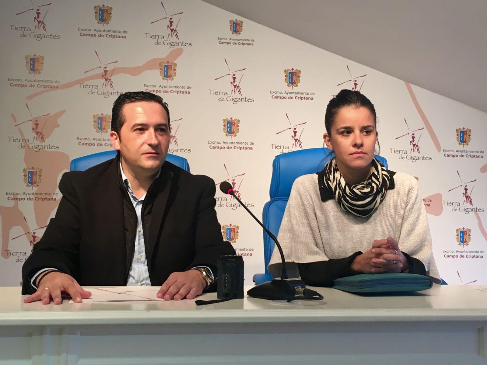 Lucas-Torres y Medina presentan la nueva campaña de promoción para el comercio de Campo de Criptana
