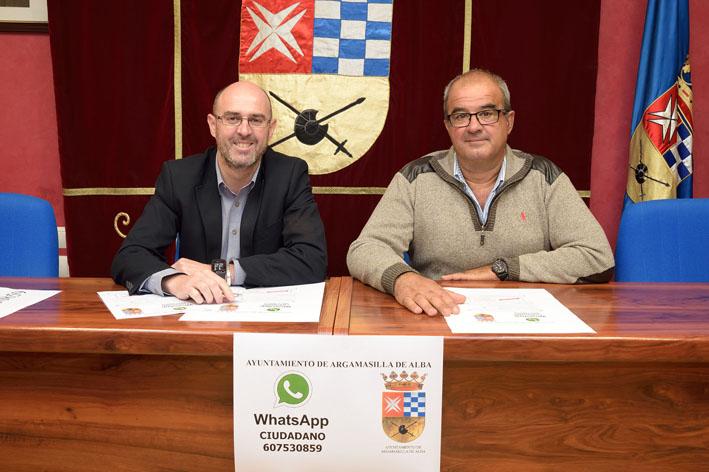 El Ayuntamiento de Argamasilla de Alba pone en marcha el WhatsApp Ciudadano