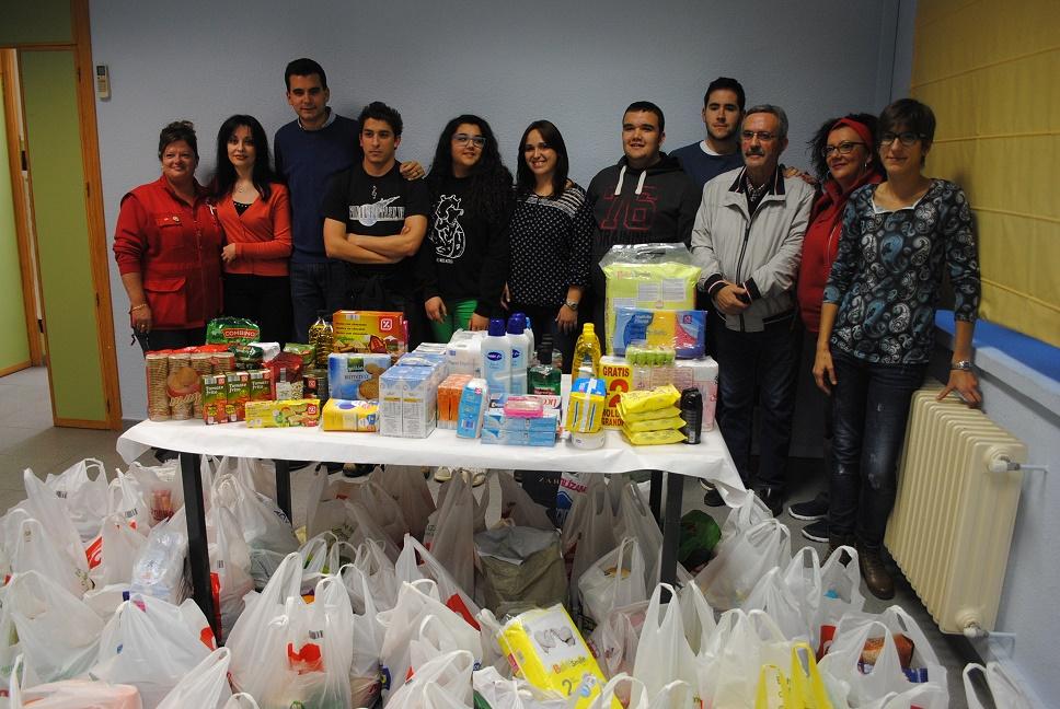 La 'VI Noche de Halloween' logró recaudar en Valdepeñas más de 1.000 euros en alimentos y productos de higiene