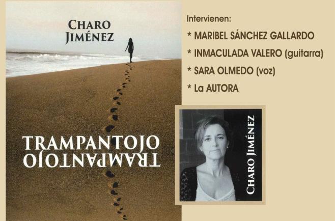 """La sevillana Charo Jiménez presenta """"Trampantojo"""", su primera novela, en la Biblioteca Municipal de Tomelloso"""