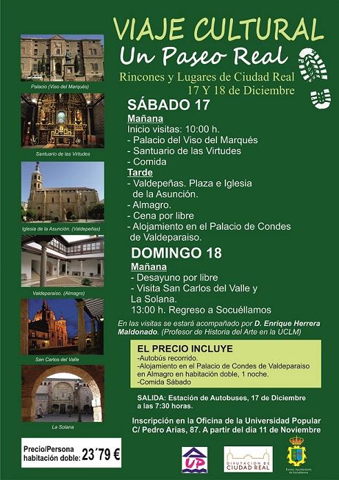 El Ayuntamiento de Socuéllamos ha puesto en marcha el programa 'Paseos por Ciudad Real', que contempla una visita cultural por un paraje único de nuestra provincia