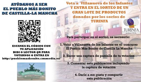 Últimas horas para votar a Infantes como el pueblo más bonito de Castilla-La Mancha