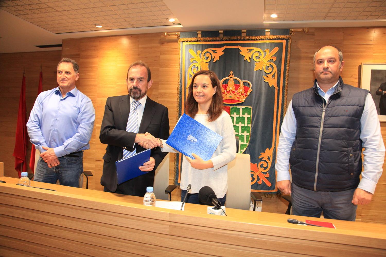 El Ayuntamiento de Getafe y el Getafe Club de Fútbol firman un nuevo convenio para los próximos 4 años