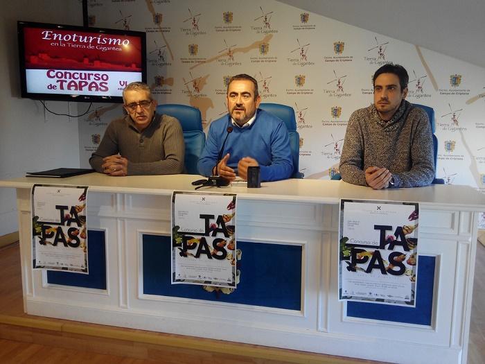 Presentada la sexta edición del Concurso de Tapas Tierra de Gigantes con la participación de once establecimientos