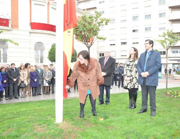 Acto institucional conjunto en conmemoración del XXXVIII aniversario de la Constitución organizado por la Delegación de la Junta en Ciudad Real