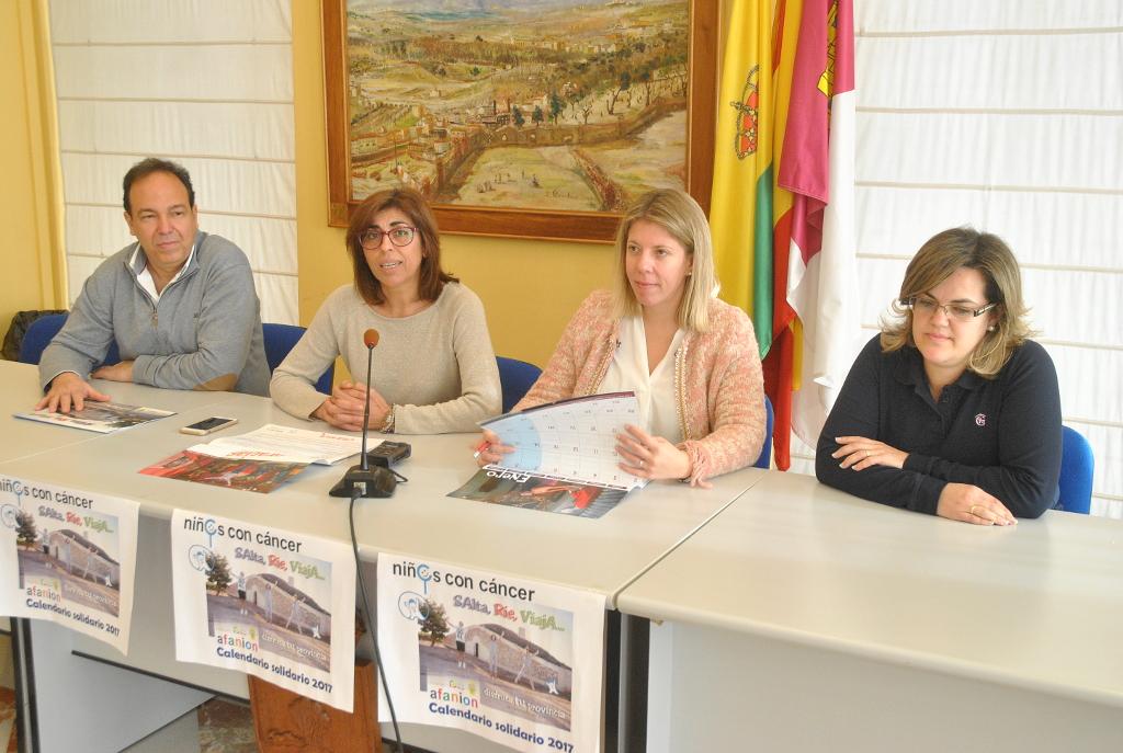 Presentado en Tomelloso el calendario solidario de Afanion