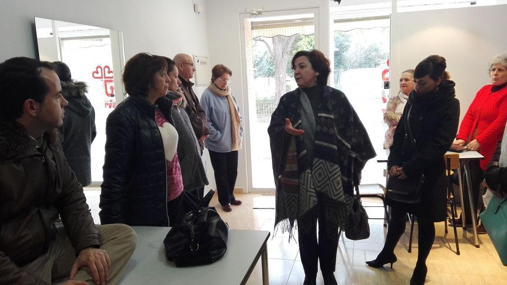 Cáritas presenta en Herencia su nuevo proyecto de ropero solidario