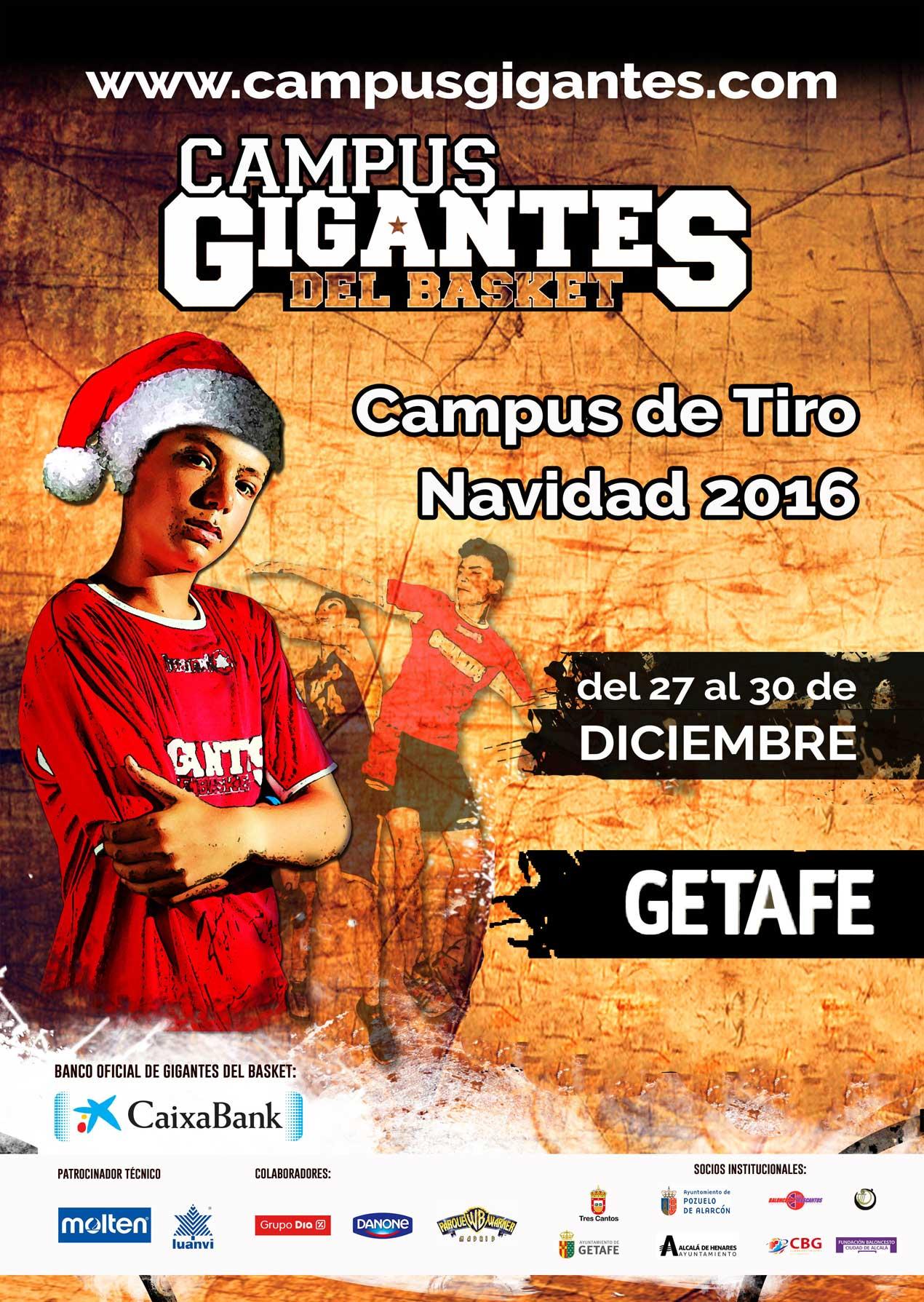 Getafe acoge el Campus Gigantes del Basket