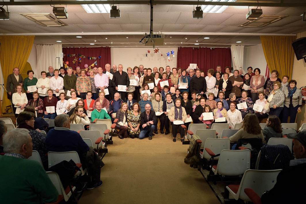 El Centro de Día de Mayores de Argamasilla de Alba clausuró los cursos y talleres