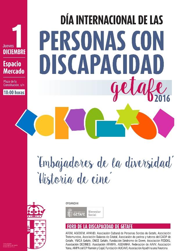 Getafe celebra el Día Internacional de la Discapacidad bajo el lema 'Embajadores de la diversidad'