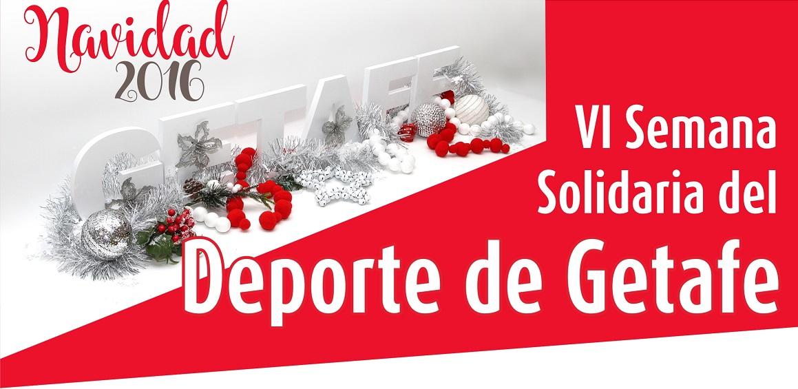 El Ayuntamiento organiza la ' VI Jornada Solidaria del Deporte de Getafe '