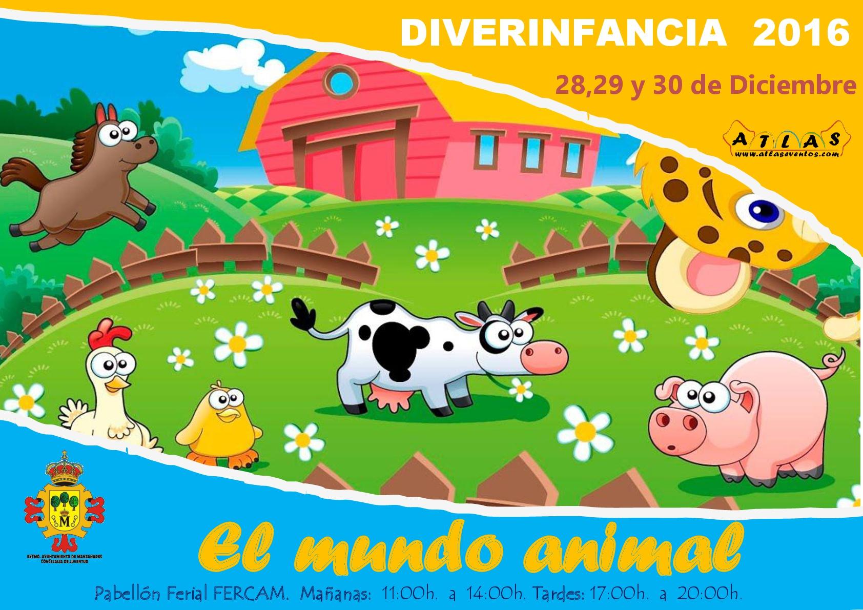 """""""Diverinfancia"""" llega al Pabellón Ferial de Manzanares"""