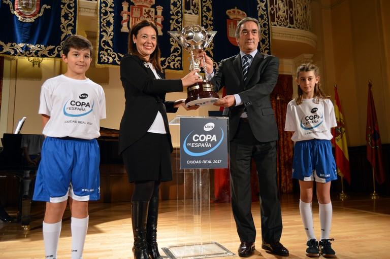 La Copa de España 2017 ya se encuentra en Ciudad Real