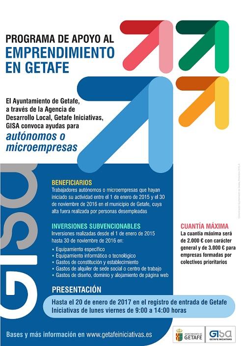 El Ayuntamiento de Getafe lanza una convocatoria de ayudas para autónomos y microempresas
