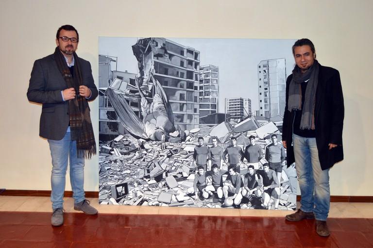 """Óscar Seco con """"Caídos del cielo"""" se alza con el XXV Premio """"López Villaseñor"""" de Artes Plásticas"""