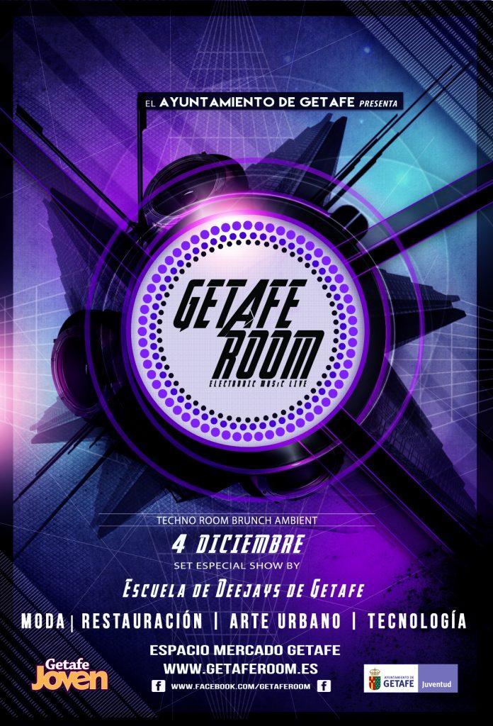 Llega la jornada 'Getafe Room' sobre música electrónica, arte urbano y entretenimiento familiar