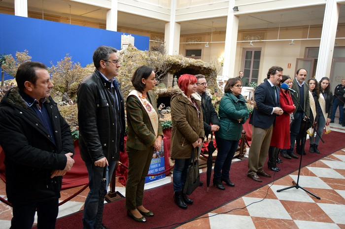 Inaugurado el Belén Monumental de Ciudad Real en el patio del Centro Cultural Antiguo Casino