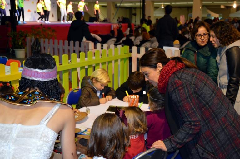 Los niños y niñas de Ciudad Real ya pueden viajar en el tiempo en el Pabellón Ferial en Jugarama
