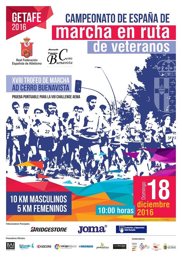Getafe acoge el Campeonato de España de Marcha Atlética en ruta de veteranos