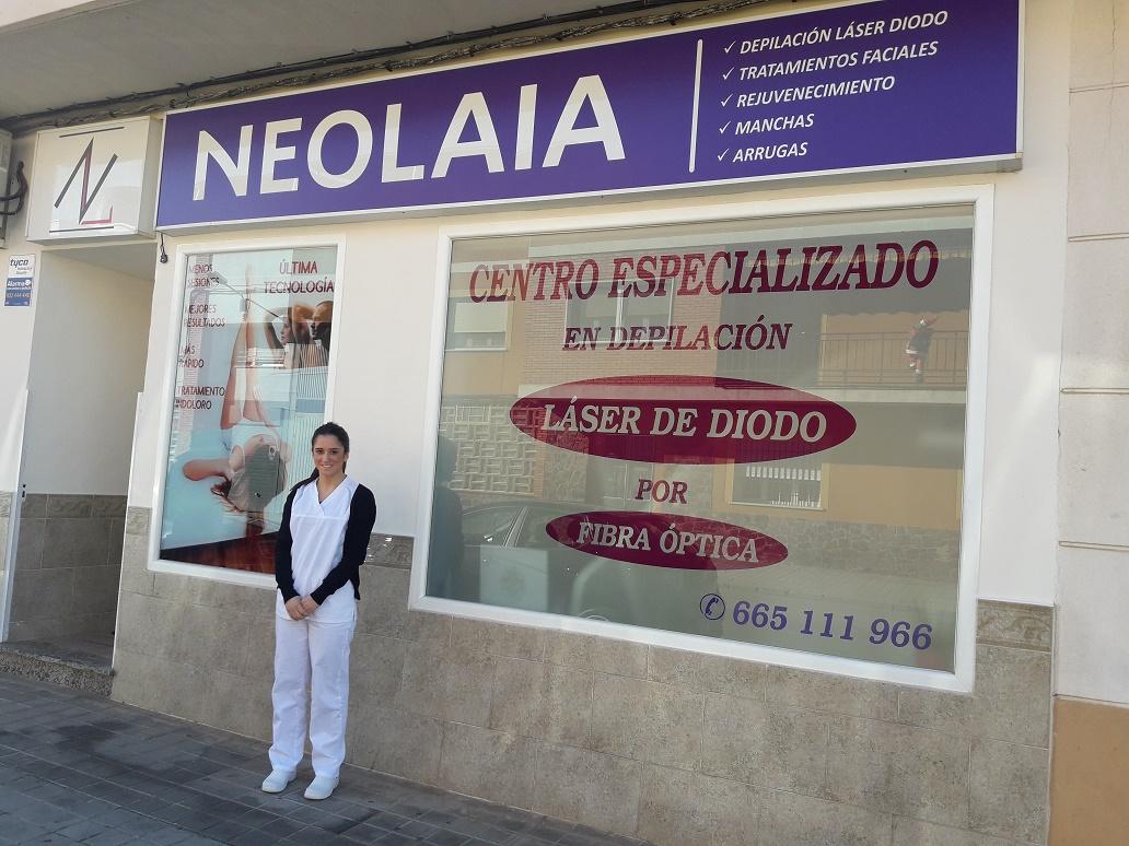 Neolaia, depilación láser diodo por fibra óptica en Manzanares