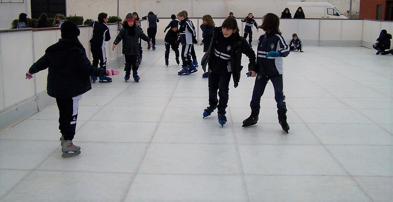 Manzanares instalará en la plaza una pista de patinaje sobre hielo