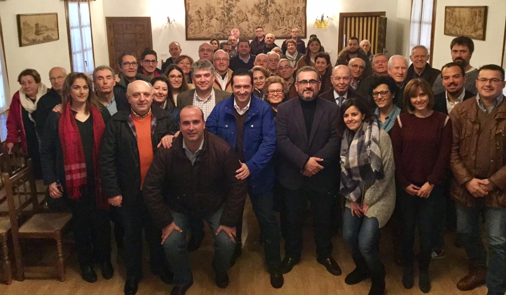 El PP cierra 2016 con la celebración de su asamblea general y la tradicional comida de Navidad