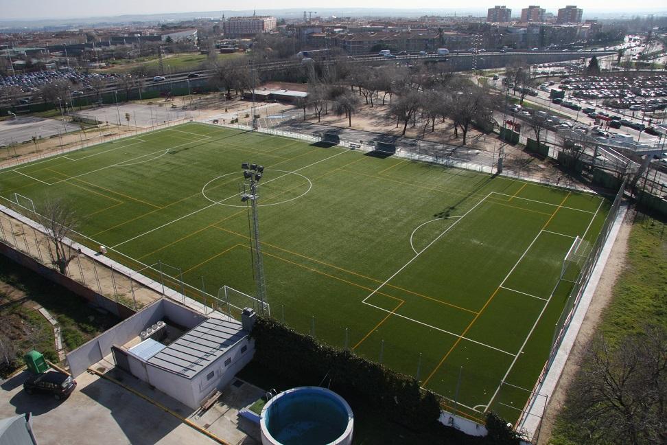 El Ayuntamiento de Getafe lleva a cabo mejoras en el Polideportivo Giner de los Ríos