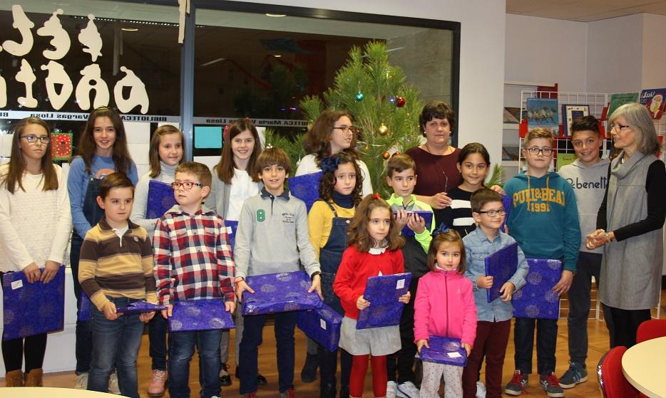 La Biblioteca Municipal de La Solana entregó los premios de los concursos navideños de cuentos y christmas