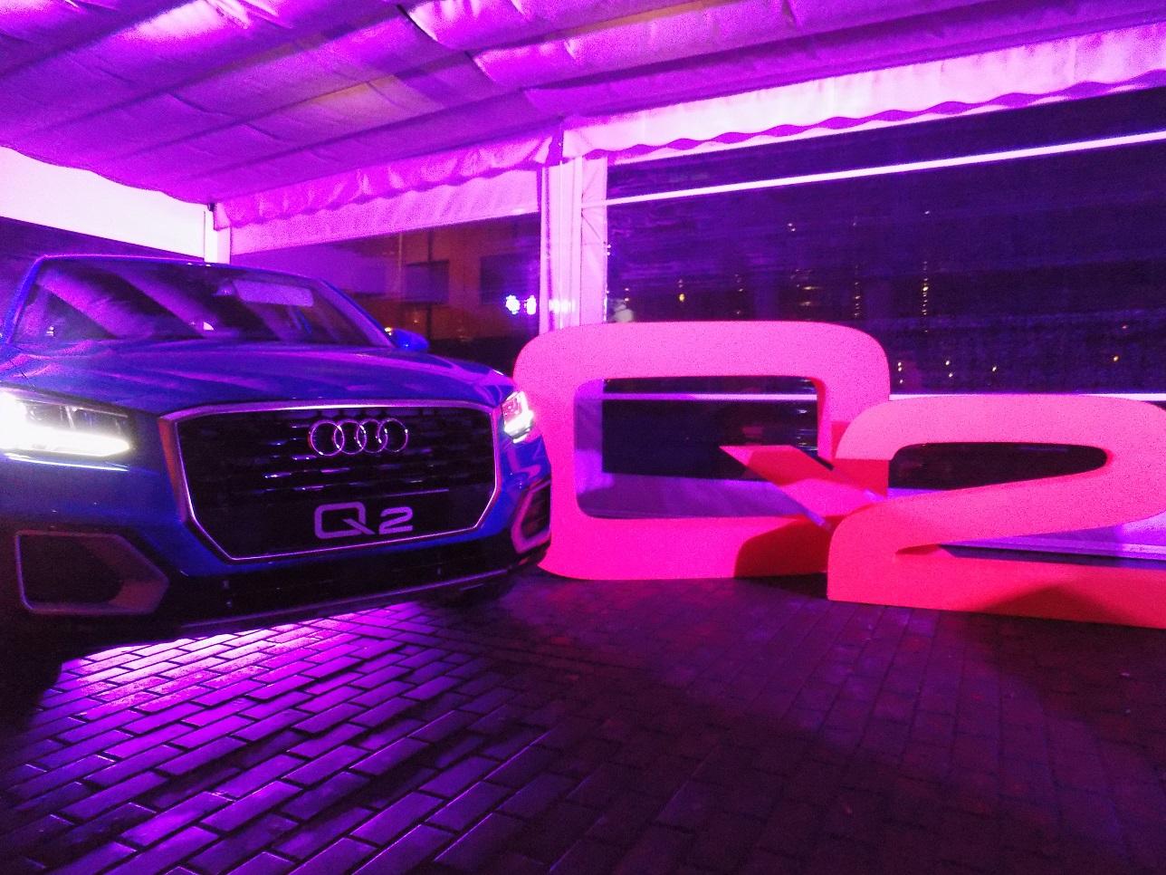 Talleres Manchegos presenta con una fiesta de luces y sonido el nuevo Audi Q2