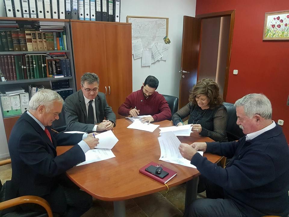 Torralba de Calatrava firma el contrato para la realización de auditoría energética dentro del Proyecto Clime