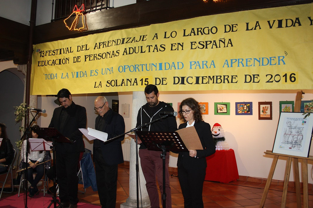 La UP de La Solana dedicó su XIII Festival del Aprendizaje al IV Centenario de la muerte de Cervantes