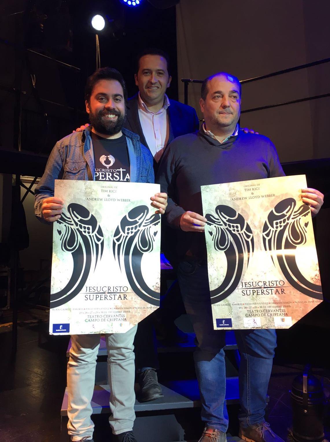 Más de 100 personas mostrarán su arte sobre las tablas del Teatro Cervantes de Campo de Criptana en el musical Jesucristo Superstar