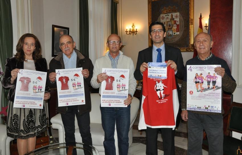 Quixote Maratón invita al presidente de la Diputación de Ciudad Real a participar en la 4ª Carrera de la Mujer en la capital