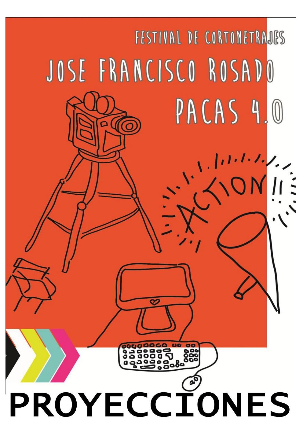 """Comienzan las proyecciones de cortos del Festival de Cortometrajes """"José Francisco Rosado, PACAS 4.0."""" en Pedro Muñoz"""