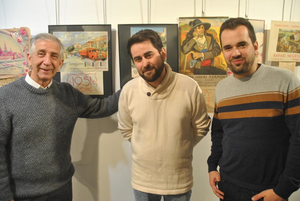Original y curiosa exposición de calendarios en la Posada de los Portales de Tomelloso